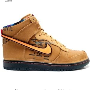 buy popular 6d34e 0451f Nike · LIMITED Nike Dunk High Premium QS Galaxy Flt Gold